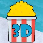 Popcorn 3D icon
