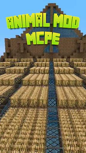 Animal Mod For MCPE.
