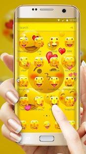 Emoji Happy Joyous Emoji Launcher Theme - náhled
