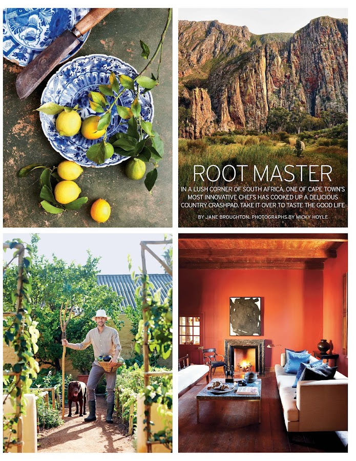 Condé Nast Traveller Magazine- screenshot