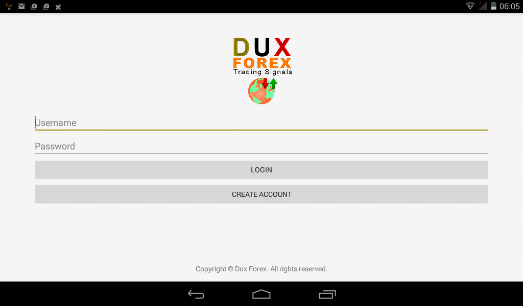 Dux Forex Notifer- screenshot