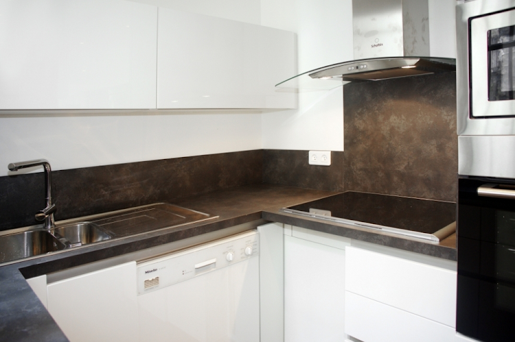 luxury kitchen 9th arrondissement apartment