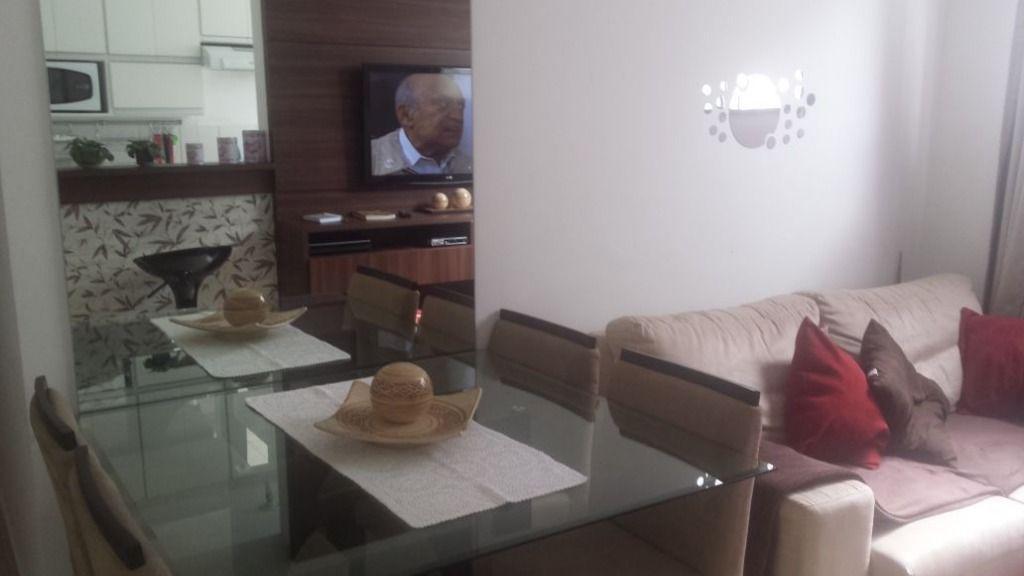 Apartamento com 2 dormitórios à venda, 45 m² por R$ 169.600,00 - Chácaras Fazenda Coelho - Hortolândia/SP