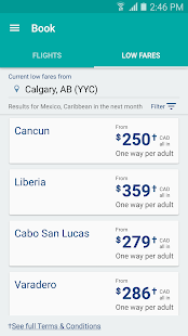 WestJet- screenshot thumbnail
