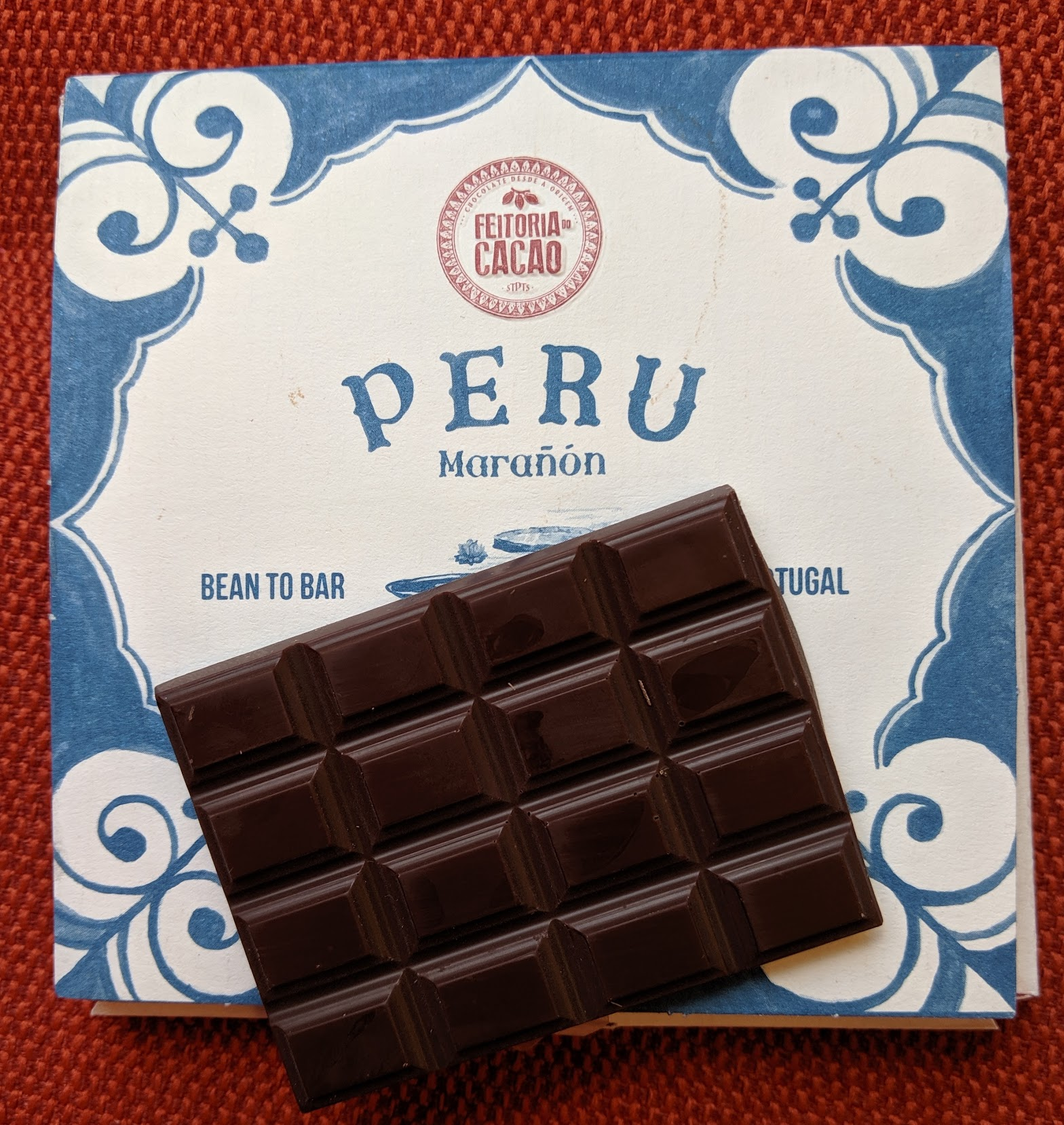72% peru feitoriado cacao bar