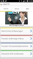 Screenshot of SHK-TV