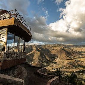 Ben Ababa viewpoint, Lalibela by S Stoye - Landscapes Mountains & Hills