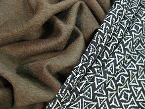 Photo: Ткань: суральпака (альпака), ш. 145 см., цена 10000р. Ткань:плательная (80% шерсть, 20% кашемир), ш. 140 см., цена 4800р.