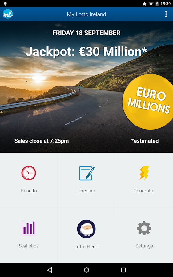 Irish Lottery (Lotto Ireland)- screenshot