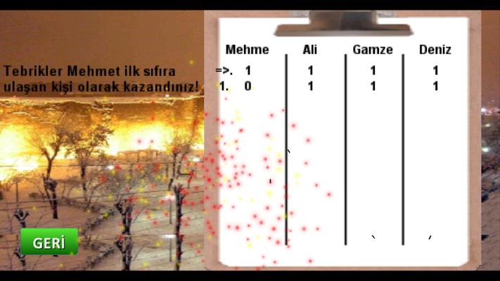 Düz Okey (internetsiz) - screenshot