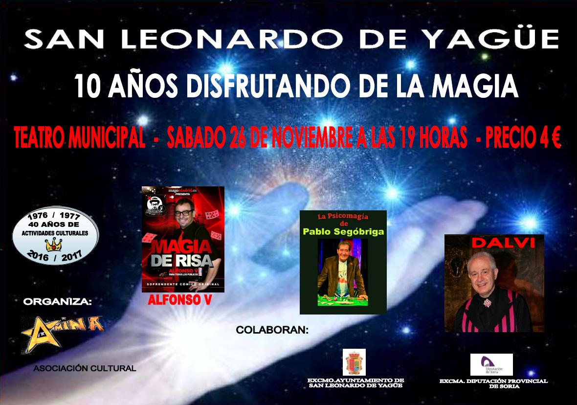cartel magia san leonardo de yagüe 2016