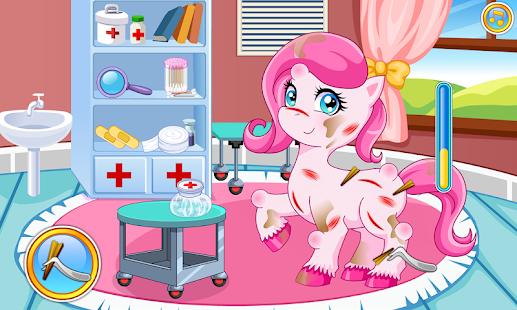 Pony doctor game - náhled