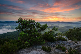 Photo: Another picture from last Saxony trip. 4:00 AM, early morning colors on the big rock ;) The getting on was not so heavy as on Saturday evening. #plusphotoextract