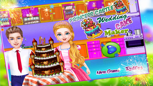 Princess Castle Wedding Cake Maker 1.1 screenshots 1