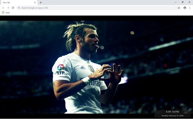 Gareth Bale New Tab & Wallpapers Collection