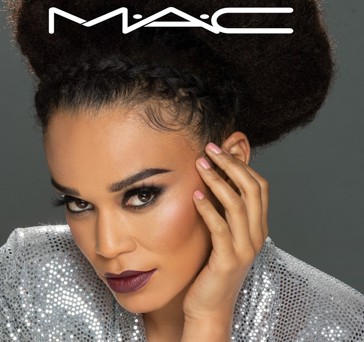 A look create using the MAC x Pearl 'Power' kit.