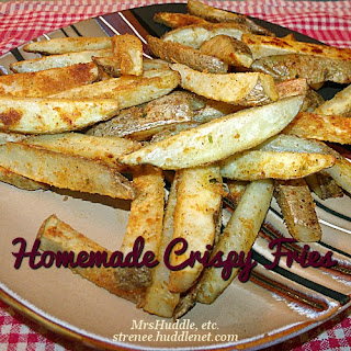 Home-made Crispy Fries