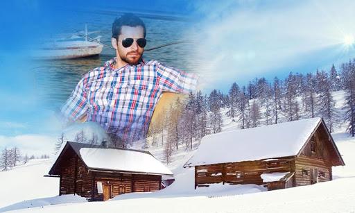 SnowFall Photo Frames