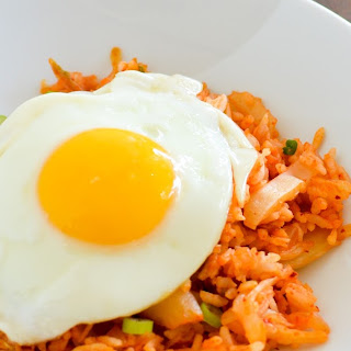 Kimchi Fried Rice (김치 볶음밥)