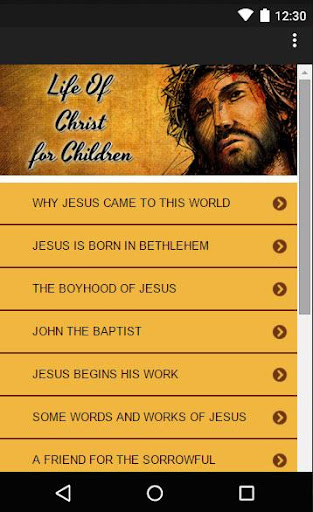 Life Of Christ For Children