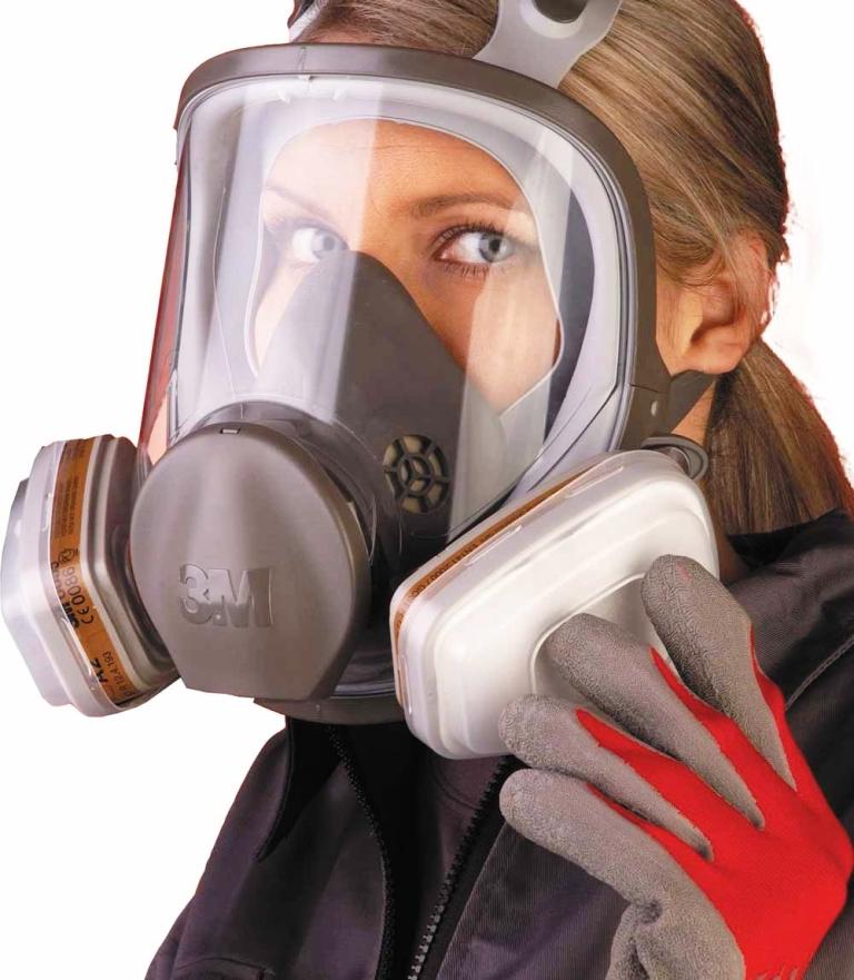 Bỏ túi một số lưu ý cần biết khi chọn mặt nạ phòng độc 3m