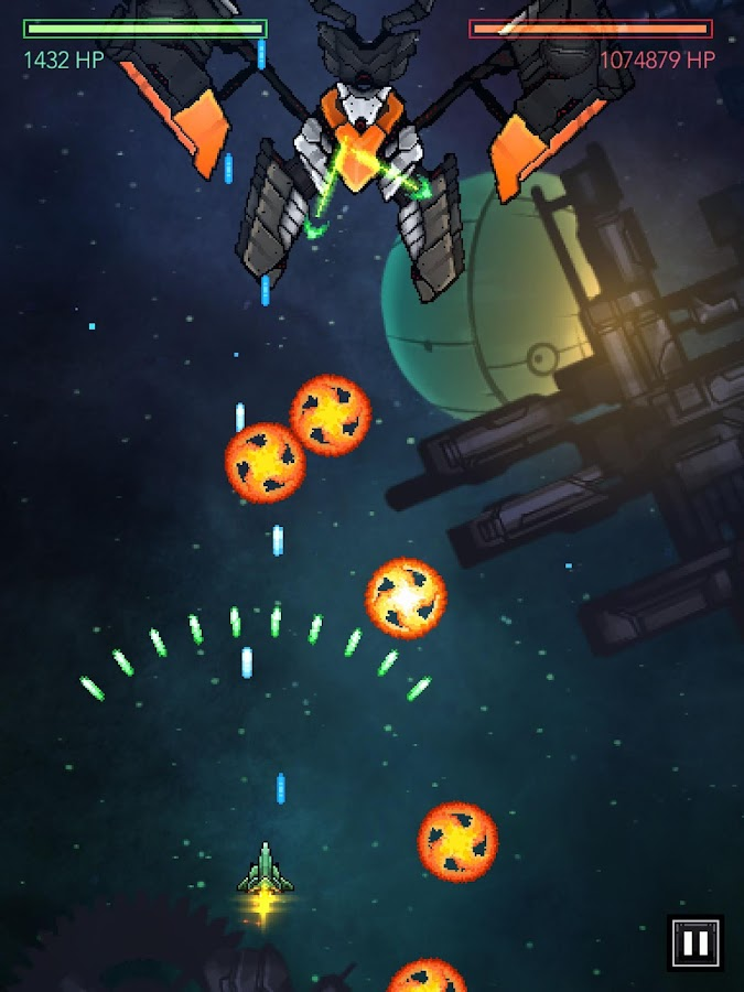 Gemini Strike Space Shooter- screenshot