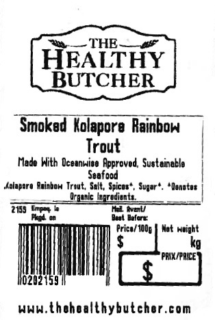 Smoked Kolapore Rainbow Trout - Variable