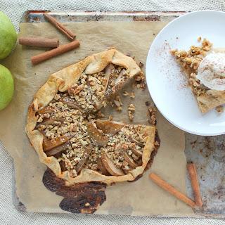 Rustic Pear and Walnut Galette Recipe
