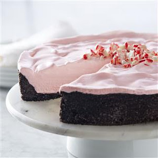 Frozen Peppermint Cheesecake