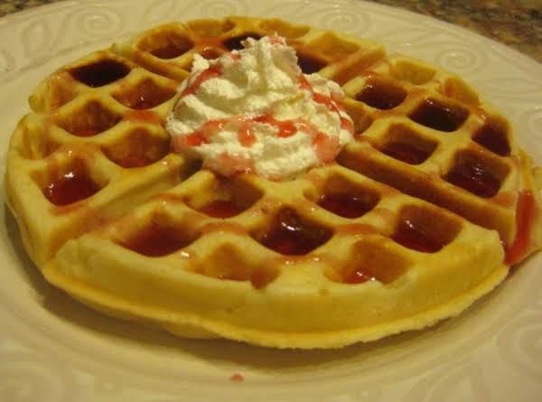 Light N Krispy Belgian Waffles Recipe
