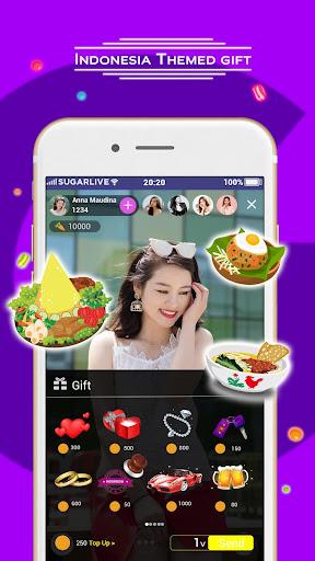 Sugarlive - Live Stream Indonesian Content 1.37.0 screenshots 4