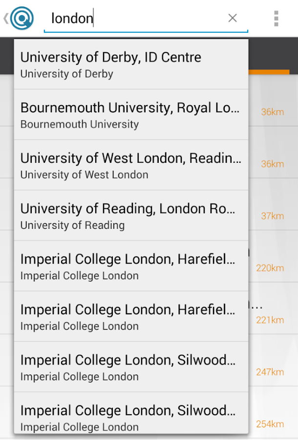 eduroam Companion: screenshot