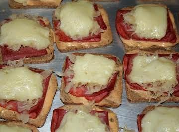 Miniature Reuben Appetizers