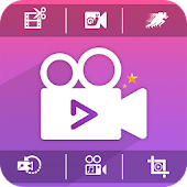 Video Editor : Video Cut, Merge, Slow Mo., Reverse
