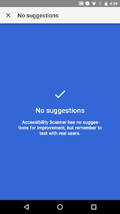 Accessibility Scanner- screenshot thumbnail