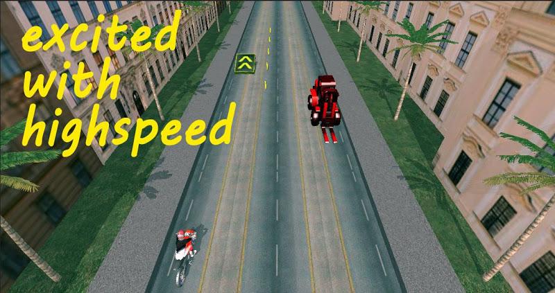 Скриншот Мотор шоссе гонки