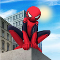 Spider Stickman Rope: Vegas Crime City Hero icon