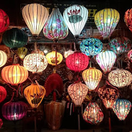 Colorful lantern to cheer up! #hoian #hoianancienttown #Danang #Vietnam #SEAtour #Asia #travel #holiday by Su Ying Ooi - Artistic Objects Other Objects (  )