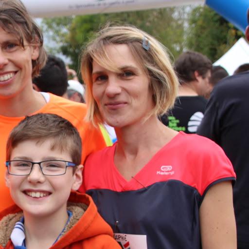 Sophie participe au cross Ouest France pour soutenir L'Arche La Ruisselée !