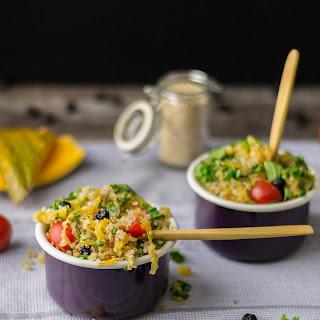 Pumpkin Blueberry Quinoa Salad