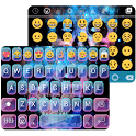 Galaxy Skull Emoji Theme icon
