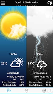 Weather for Brazil and World- screenshot thumbnail