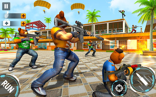 Teddy Bear Gun Strike Game: Counter Shooting Games apkmr screenshots 10