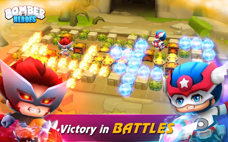 3D Bomberman: Bomber Heroes- tangkapan layar