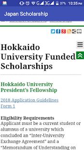 Japan Scholarship - náhled