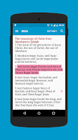 Screenshot of Bible with EGW Comments
