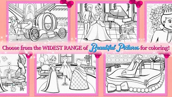 Princess Coloring Book Games Free Screenshot Thumbnail