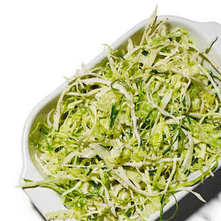 Iceberg and Cabbage Slaw