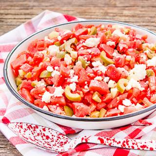 Olive Tomato Salad