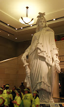 Photo: Lady Freedom mold used for the Bronze statue on top of the Capitol.